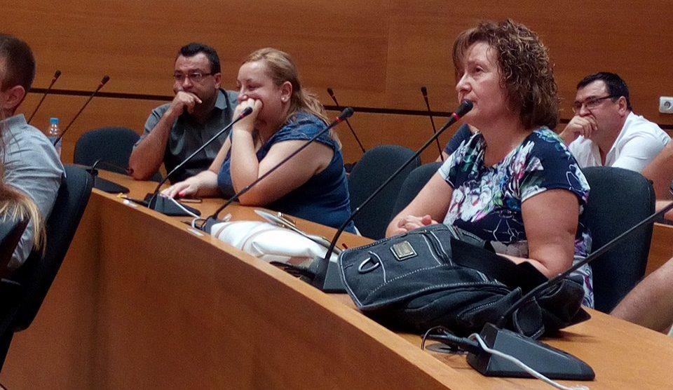Славчо Атанасов дойде на общественото обсъждане и остана докрай.