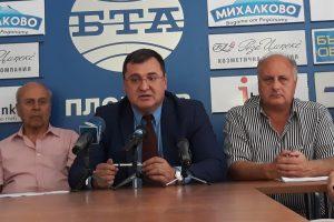 Славчо Атанасов със запасните офицери в Пловдив