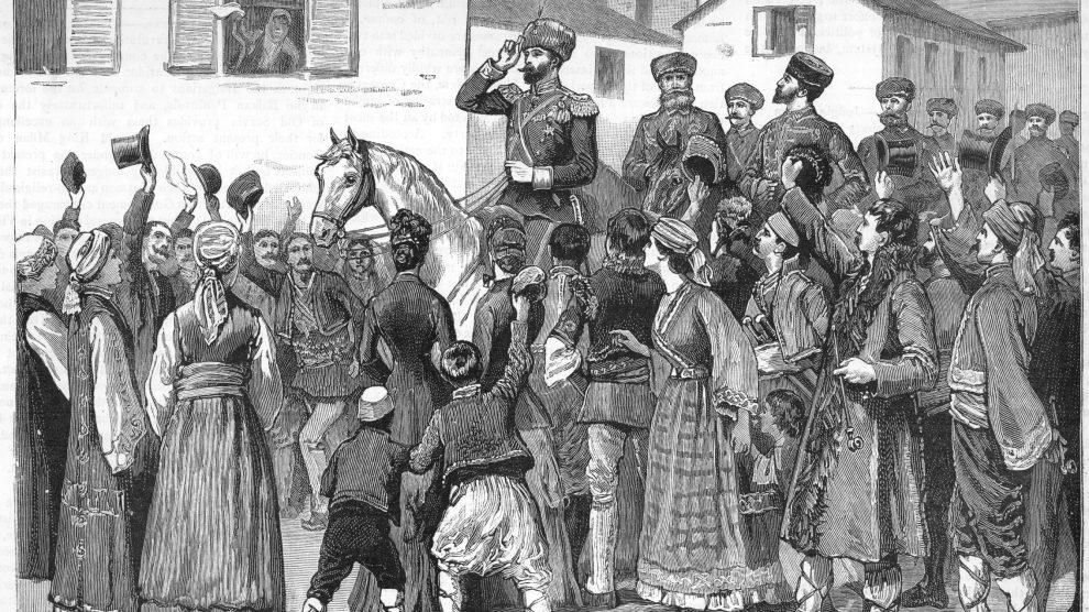 Пловдивчани посрещат на 9 септември Княз Александър I Батемберг, който приветствал Съединението