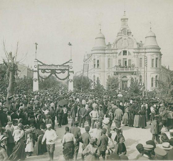 Триумфалната арка за посрещането на цар Фердиданд