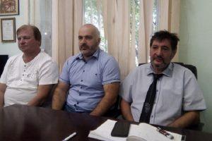 Атанас Кръстев, Христо Даскалов и Цило Нейчев (отдясно наляво) Снимка: ПловдивПрес novini-plovdiv-press