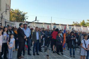 Георги Титюков и Николай Бухалов подкрепиха протеста на арменската общност.