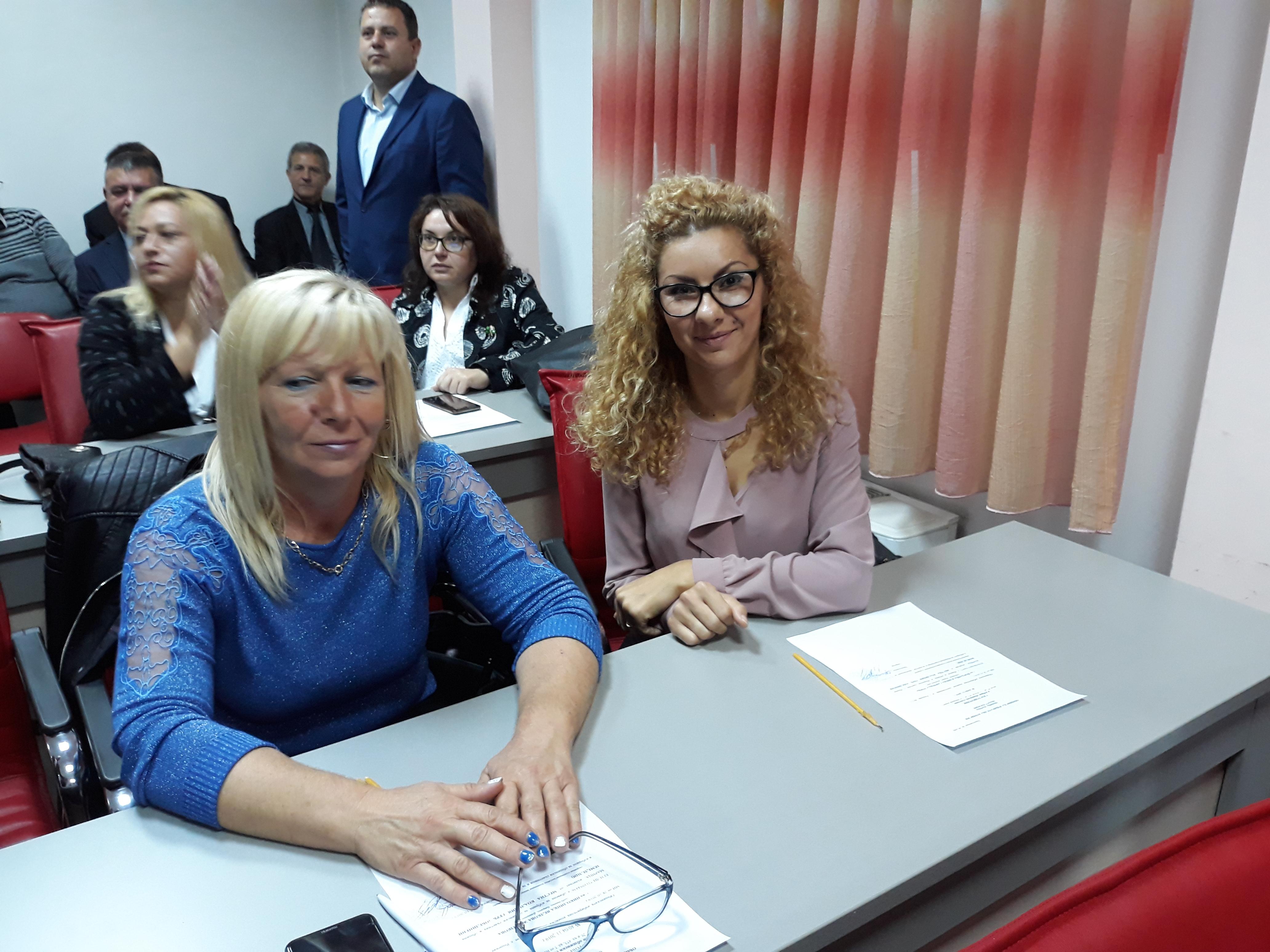 Йорданка Савчева от Костиево също положи клетва като общински съветник в Община Марица. Тя е сред най-младите в новия състав на местния парламент.