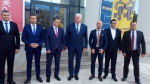 Районните кметове със Здравко Димитров.