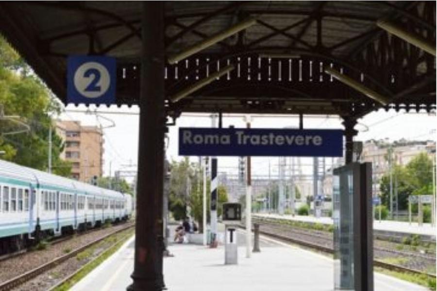Гара Трастевере, Рим