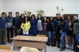 """Ученици от 9 """"и"""" клас и учителката Недялка Траянова се включиха в глобалния проект """"Ден на астрономията в училищата"""" novini-plovdiv-press"""
