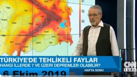 Проф. д-р Наджи Гьорюр предупредил за земетръса в Елазъ