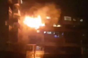 Взривът прати в болница 14 души, уби двама.