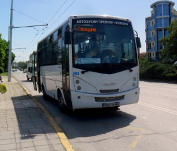 Автобус по линия 25 ще стига до Строево