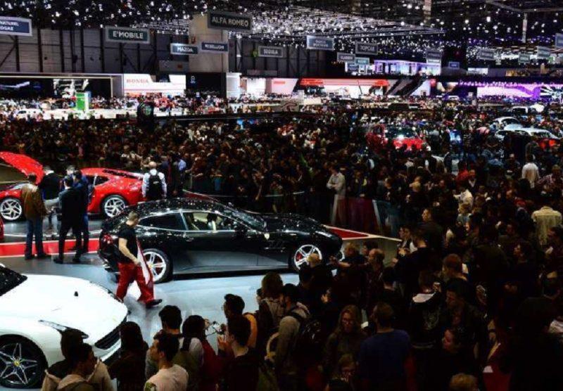 Автомобилният салон в Женева е сред най-посещаваните изложения.