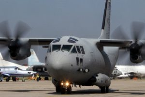 """Военен транспортен самолет """"Спартан"""""""