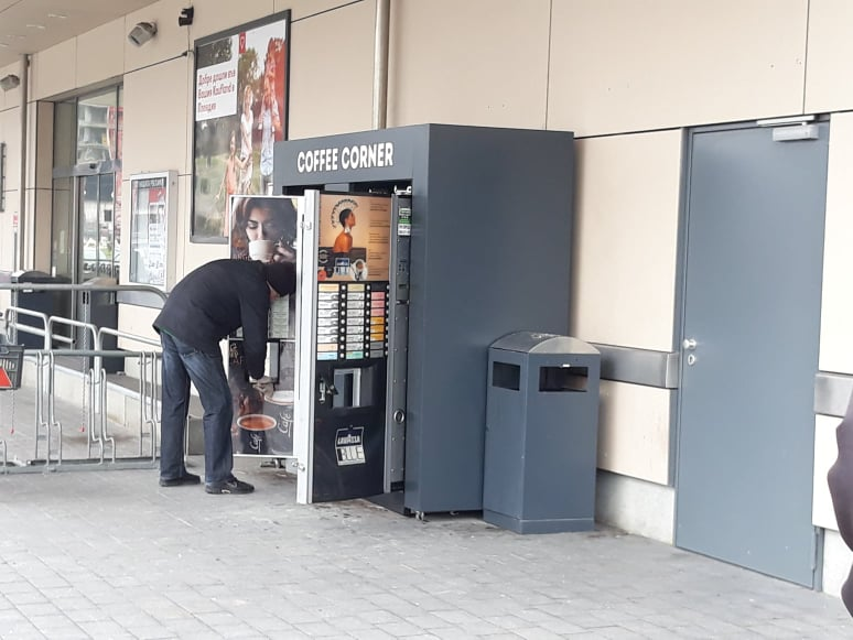 Кафеавтомат, архив