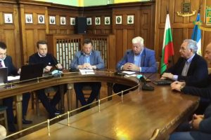 Щабът на кмета Здравко Зимитров заседава