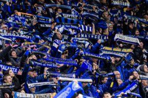 Аталанта-Валенсия - хиляди напълниха стадиона в Милано
