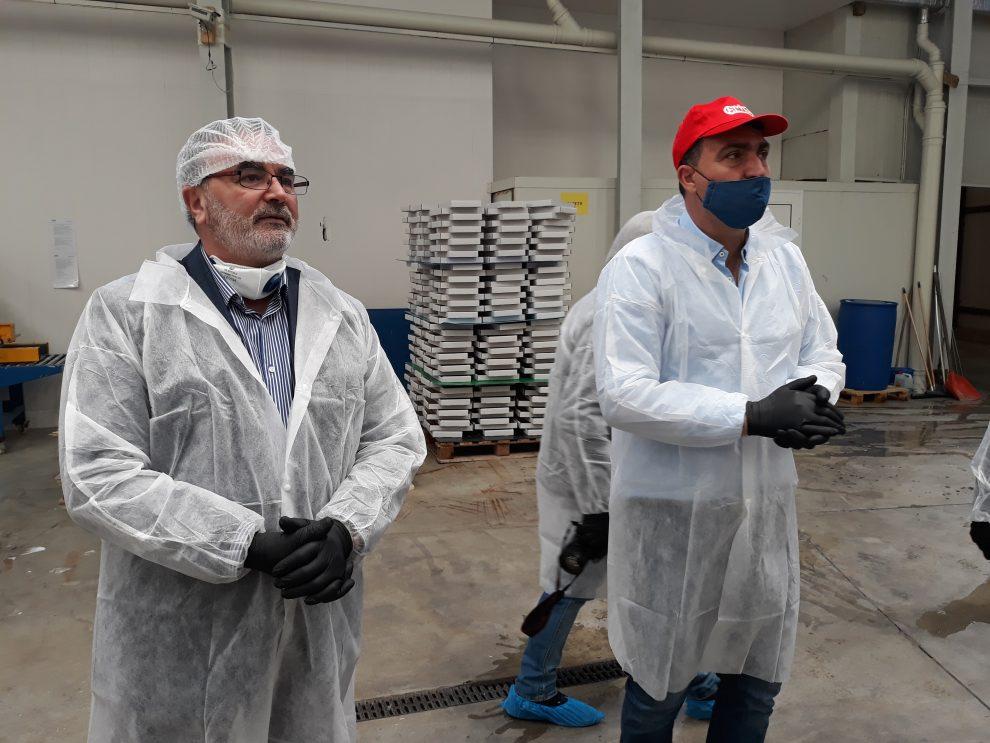Д-р Кунчев на инспекция във фабрика Цима