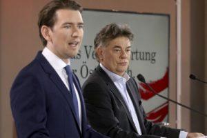 Себастиан Курц, Вернер Коглер