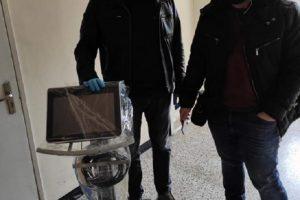 Дарителите на респиратора за Инфекциозна клиника