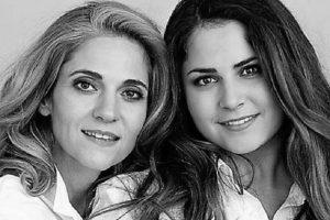 Йорданка и дъщеря им с Милен Цветков Калина