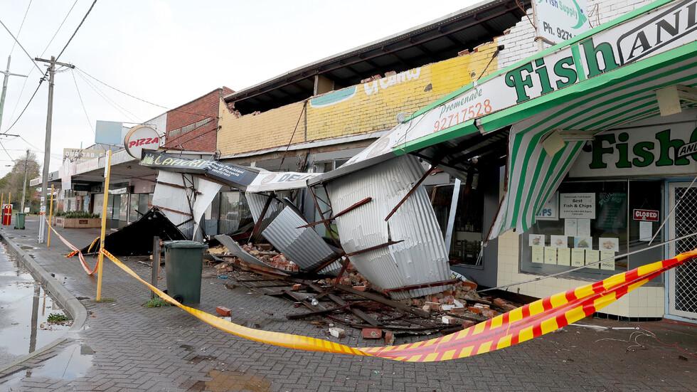 Мощна буря удари Западна Австралия