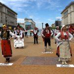 На 24 май танцови и музикални школи излязоха на протест пред Министерския съвет, снимка БГНЕС