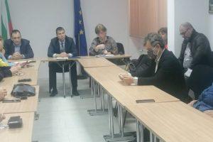Заседание на Областния кризисен щаб в Пазарджик