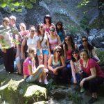 Момент от практиката на студентите по биология с екотуризъм