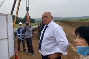 Борисов оглежда поредния инфраструктурен обект от национално и интернационално значение