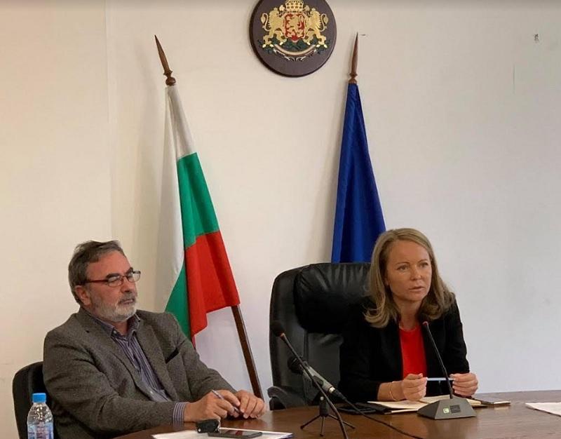 Дани Каназиерва и д-р Ангел Кунчев