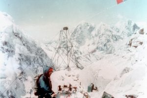 Лифтът под Еверест на пловдивчанина Георги Имов.