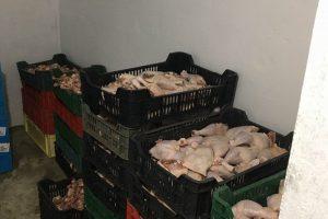 Месото без документи в цеха в Караджово