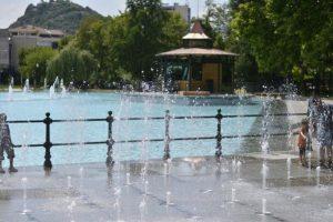 Пеещите фонтани в Цар-Симеоновата градина