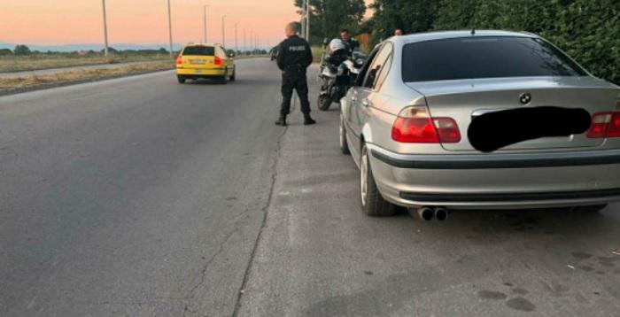 """Шофьорът на БМВ е хванат на булевард """"Марица"""""""