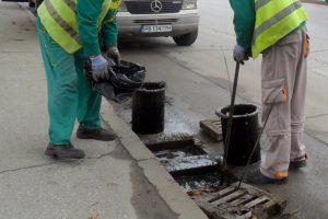 Чистят шахти в Пловдив