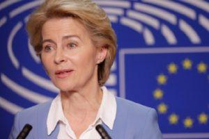 Председателят на Европейската комисия Урсула фон дер Лайен