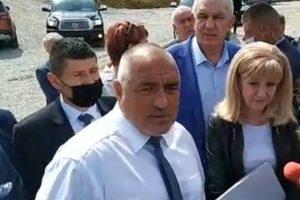 Борисов инспектира инфраструктурни обекти в Северозападна България