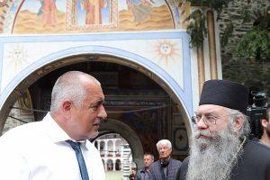 Бойко Борисов посети Рилския манастир