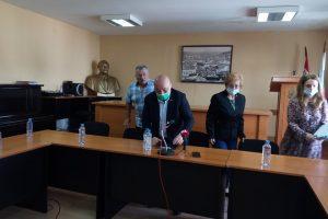 Георги Гергов (в средата)