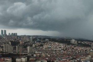 Бурята в Истанбул, кадър Youtube