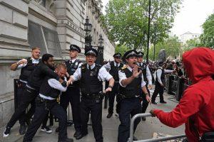 Протести и в Лондон за смъртта на Джордж Флойд