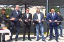Здравко Димитров и Димитър Колев прерязаха лентата на първия етажен паркинг