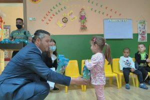 Кметът Павел Михайлов посети детската градина в село Крумово