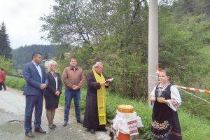 Започна укрепването на пътя за село Ситово