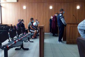 Ангел Стоилов в съдебната зала.
