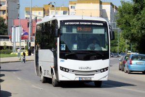 Автобусите ще се движат на по-големи интервали днес.