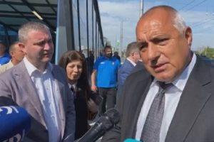 Борисов, Горанов и Фандъкова инспектираха столичното метро