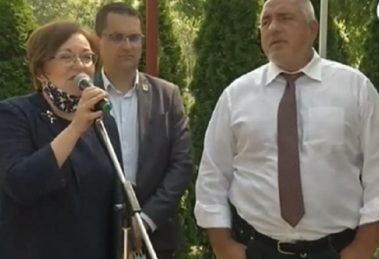 Когато кметът е добър, държавата не му пречи, каза Борисов за кметицата на Троян, която е от БСП