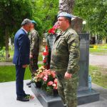 "Кметът на Община ""Марица"" се поклони пред паметника на Христо Ботев във Войводиново."