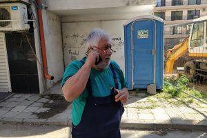 Димитър Будаков място не може да си намери след рухването на дома му.