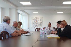 Зам.-кметът Тодор Чонов се срещна с превозвачите.