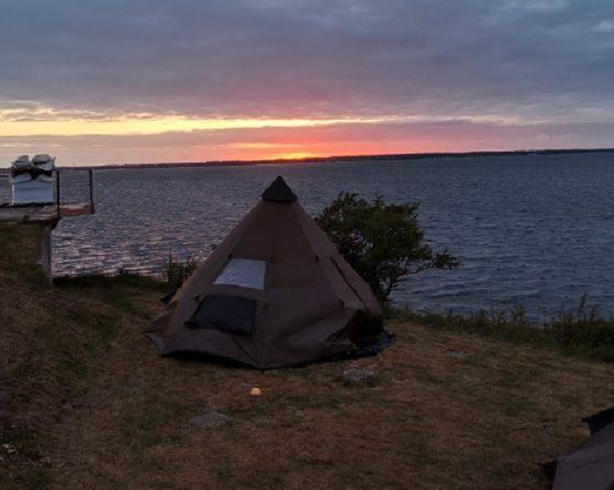 Залез над Балтийско море